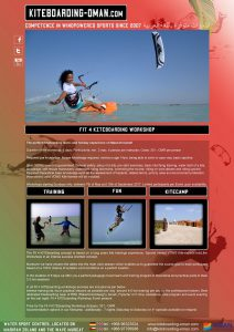 FIT 4 KITE - the most complete learning program for a complete start into a safe kite life.
