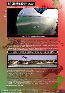 Sei einer von 10 Pionieren, die mit Kiteboarding-Oman meue Spots im Sultanat Oman entdecken