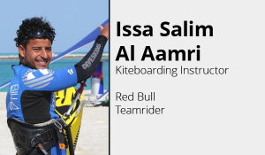 Issa Salim Al Aamri- Kiteboarding Oman