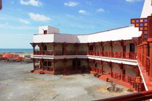 Masirah Hotel - der klassische Unterschlupf für Surfer auf der Insel