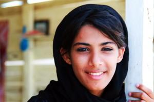Omanisches Mädchen - Reise im Sultanat Oman