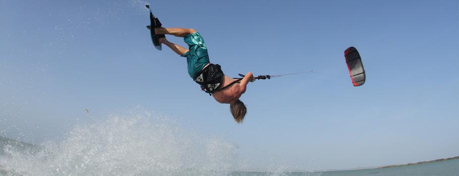 Kiteboarding Oman Khareef